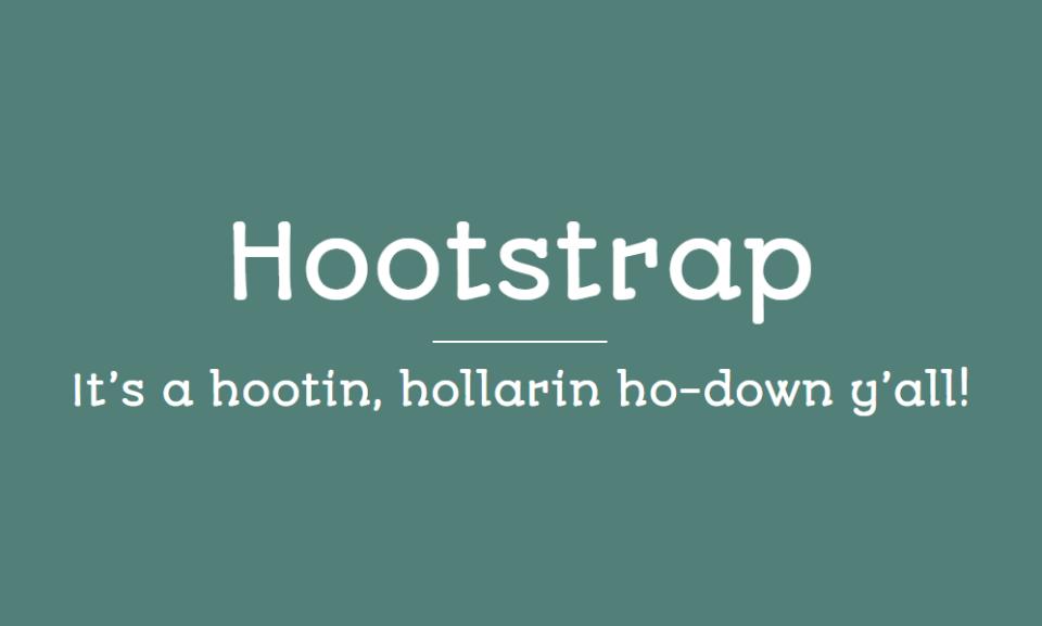 hootstrap
